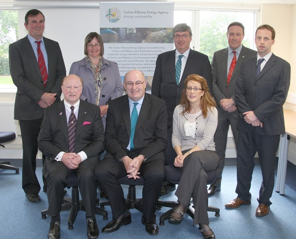 Board Members with Minister Phil Hogan T.D. at the CKEA new Website and Office opening. May 2013