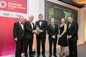 Sustainable Energy Awards Winner