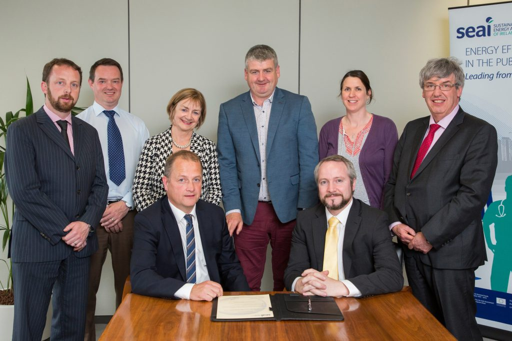 Wexford County Council Seai Signing