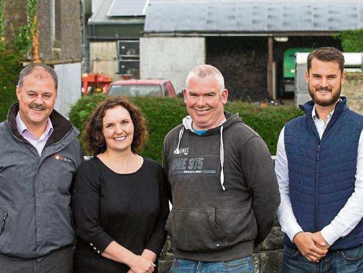 Tipperary dairy farmer slashes electricity bill with solar panels on milking parlour roof.