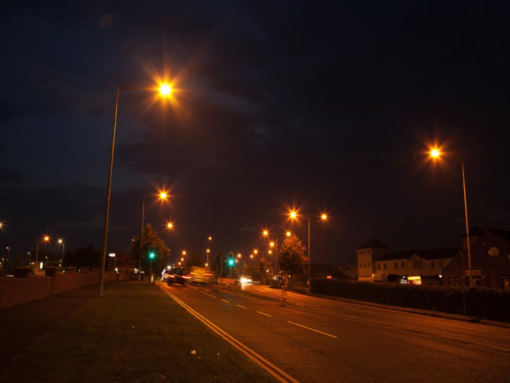 Street Light Before